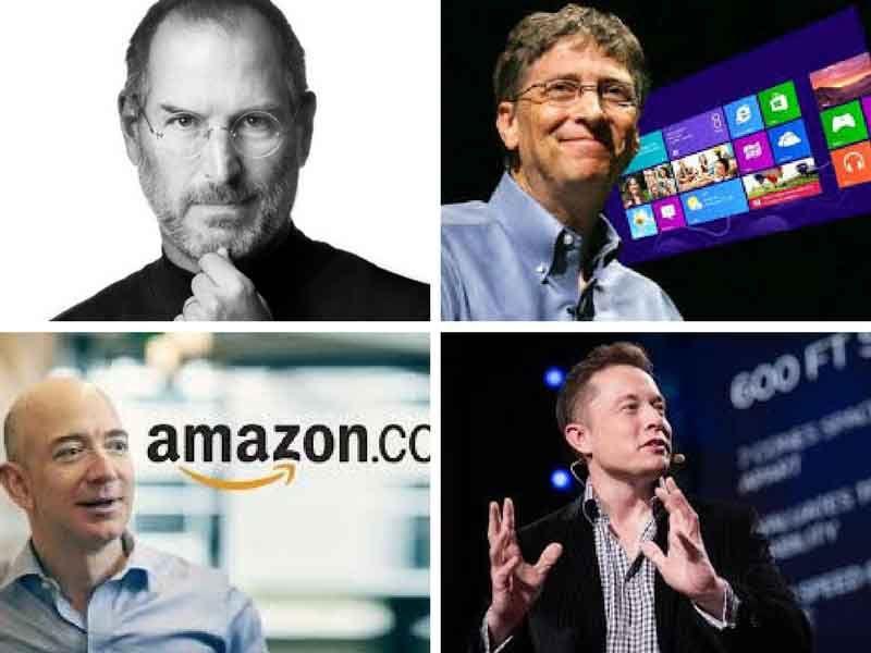 emprendedores famosos